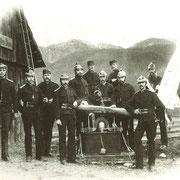 Gründungsfoto FF Gosau 1877