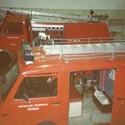 KRF und TLF 2000 in der Alten Zeugstätte