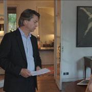 L'aigle fier - 2015 - Huile sur toile, 146x114 cm  - Prêté pour le tournage de la série télévisée Dix pour cent dans l'appartement de Thibaut de Montalembert - Exposé lors de l'exposition Chorégraphie