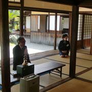 客話をお願いした古川所長と高橋副所長