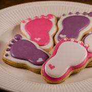 Babyvoetjes koekjes