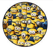 Frosting sheet met Minions