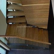 Aufsicht Treppenlauf
