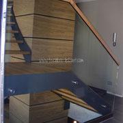 Ansicht Treppenturm am Antritt