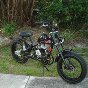 three speed transmission [functional w/motor] Black Beauty