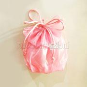 sacchetti pierrot in rasatello rosa € 1,20