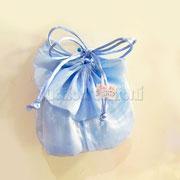 sacchetti pierrot in rasatello azzurro € 1,20