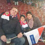 Mit guten Freunden aus Bremen im Stadion, leider haben die die drei Punkte mit nach Hause genommen.