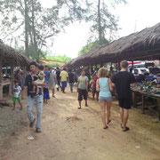 Khao Lak Market in Thailand.