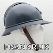 Legerhelmen Frankrijk