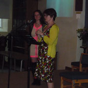 The wonderful Louise introduces me...