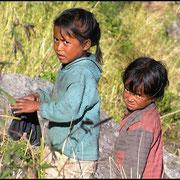 Nepal ist ein junges Land, mit vielen Kindern.