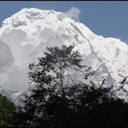 Annapurna-South, ein Siebentausender.