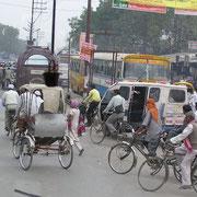 Truck driver in Indien ist ein Knochenjob.