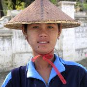 Gesichter Burmas.