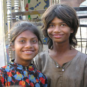 Mädchen in Udaipur.