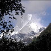 Machapuchare, der grosse Bruder des Matterhorn.