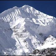 Ein Sechstausender in der Annapurna-Region.