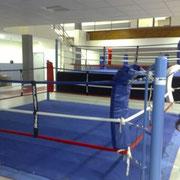 Ring de la salle de boxe