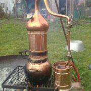 Kupfer-Destille