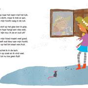 Illustratie uit 'Geen fluit, wel een bel', geschreven door Bas Rompa, Uitgeverij Zwijsen