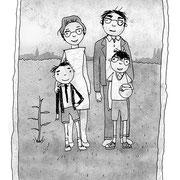 Illustratie uit 'Uitvinder Otto', leesboek, Uitgeverij Clavis