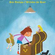 'Geen fluit, wel een bel', leesboek, Tekst Bas Rompa, Uitgeverij Zwijsen