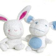 Twee knuffels voor Zweeds kledingbedrijf Lilleba
