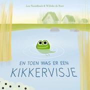 Vormgeving en illustraties voor 'En toen was er een kikkervisje', geschreven door Lea Noordhoek, 2020
