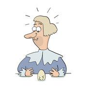 Illustratie uit informatieboek 'Hoe bedenk je het!', geschreven door Bas Rompa, uitgeverij Zwijsen