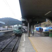 大井川鐵道のクラッシックな電車で移動