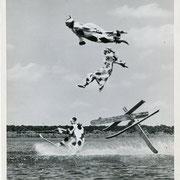 Air 12 -  18x22,5cm - Presse - 1952-  légendes et tampon au dos - 4/5