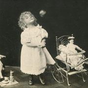 ref: S36 - 9x13,5cm -  dos carte postale - RPPC - 1908
