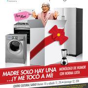 Norma Lixta con 'Madre sólo hay una... Y me tocó a mí' Foto: Amaury Martínez Diseño: Eduardo Correa