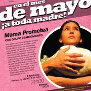 Mama Prometea, con Teatromiento. Diseño: Eduardo Correa