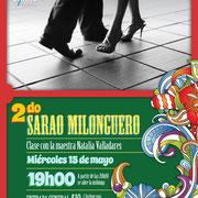 2do. SARAO MILONGUERO con Natalia Valladres. Diseño: Eduardo Correa