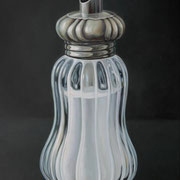Zuckerdose Glas 4, Ölfarbe a. LW, 80 x 60 cm