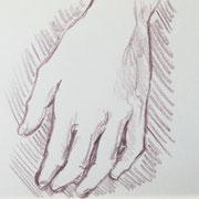 Hand 3, 18 x 20 cm
