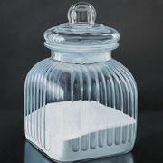 Zuckerdose Glas 2, Ölfarbe a. LW, 80 x 80 cm