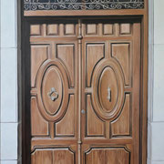 andalusische Tür 1, Ölf a. Leiwand, 70 x 100 cm