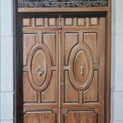 andalusische Tür 1, Öl a. Leiwand, 70 x 100 cm