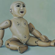 La muñeca, Ölfarbe, a. LW, 50 x 70 cm