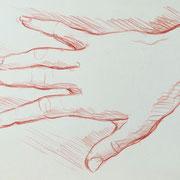 Hand 5, 18 x 20 cm