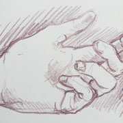 Hand 2, 18 x 20 cm