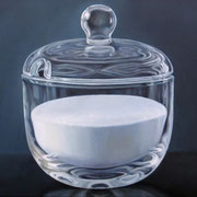 Zuckerdose 01, Ölfarbe a. LW, 60 x 80 cm