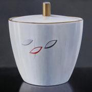 Zuckerdose 05, Ölfarbe a. LW, 60 x 80 cm