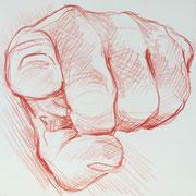 Hand 8, 18 x 20 cm