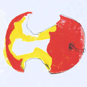 apple 7, prin/ink, 25 x 15 cm
