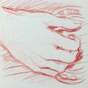 Hand 1, 18 x 20 cm