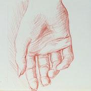 Hand 4, 18 x 20 cm